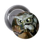 Familiar Owl Pin