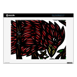 Familiar Spirited Cool Well Decal For Acer Chromebook