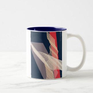 """Familiarity"" Two-Tone Coffee Mug"