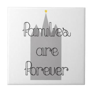 families are forever mormon lds temple ceramic tile