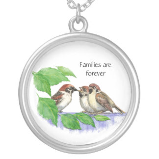 Families are Forever - Song Sparrow Jewelry