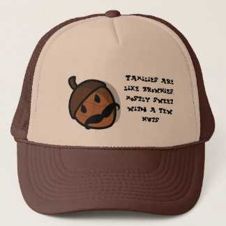 Families are like brownies hat