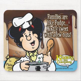 Families Are Like Fudge Mouse Pad