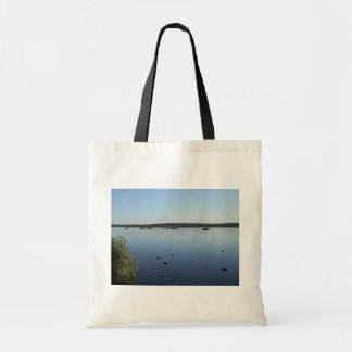 Families Of Ducks Swimming In The Lake Of Joondalu Canvas Bag