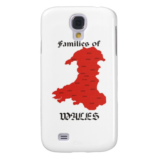 Families of Wales Galaxy S4 Cover