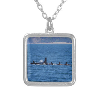 Families Stick Together Silver Plated Necklace