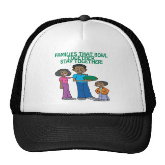 Families That Bowls Together Trucker Hat