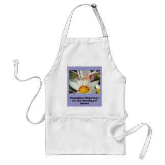 Families Together on the Holidays! Easter Cards Adult Apron