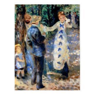 Famille by Pierre Renoir Postcard