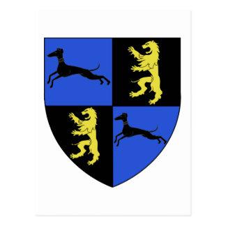 Famille franco du Bosc de Taret de Blason Postal