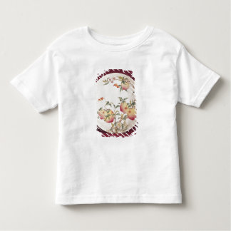 Famille rose plate decorated toddler t-shirt