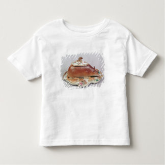Famille rose sauce tureen and cover modelled toddler t-shirt