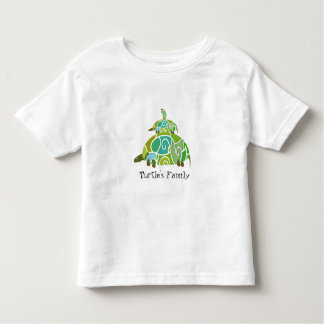 Famille Tortue Toddler T-shirt