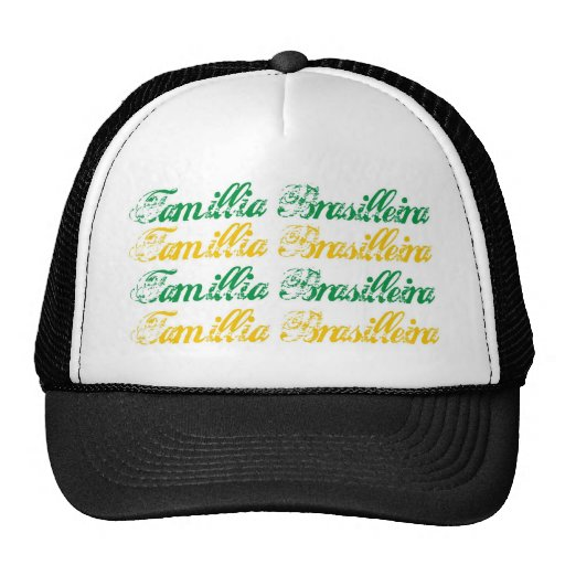 Famillia Brasilleira Trucker Hat
