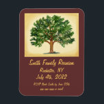 "Familly Reunion - Save the Date, Invitation Magnet<br><div class=""desc"">This magnet can go right on the &#39;ridge to remember where and when the family reunion will happen. This is a combination of save the date and invitation to a family reunion. You can add this to a letter with more detail on specific where and when. This also becomes a...</div>"