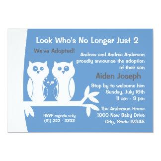 Family Adoption Open House Card