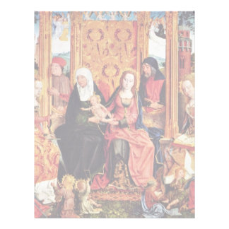Family Altar Middle Panel: The Mystical Marriage O Letterhead