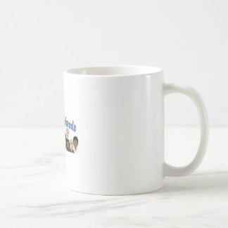 family and friends classic white coffee mug