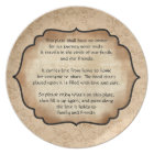 Family and Friends Traveling Plate
