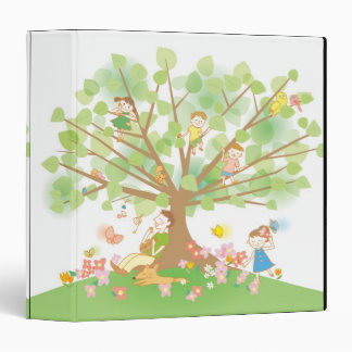 Family and Tree 3 Ring Binder