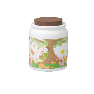 Family and Tree Candy Jar