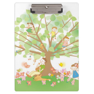 Family and Tree Clipboard