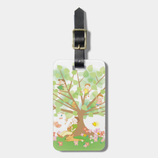 Family and Tree Travel Bag Tags