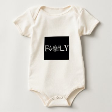 USA Themed family baby bodysuit
