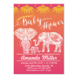 Family Baby Shower - Indian Inspiration - India Card