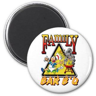 FAMILY BAR B Q MAGNET