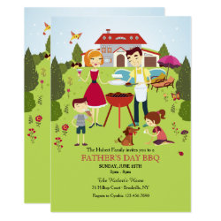 Family BBQ Invitation