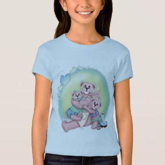 FAMILY BEAR LOVE CUTE CARTOON Babydoll T-Shirt 3