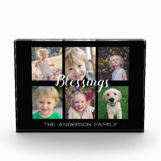 Family Blessings | 6 Photo Collage
