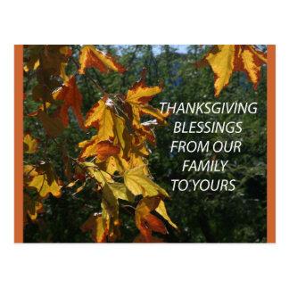 family blessings postcard
