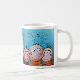 family ( blue ) coffee mug