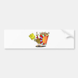Family Bucket Bumper Stickers