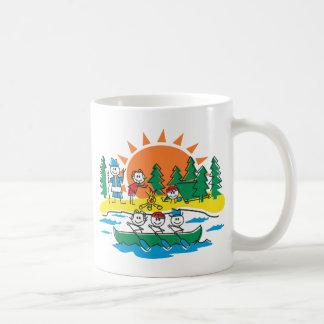 Family Camping Coffee Mug