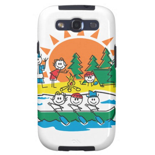Family Camping Samsung Galaxy S3 Cases