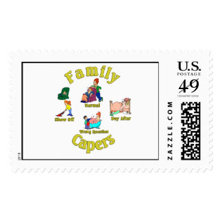 Family Capers. :-) Stamp