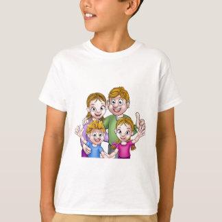 Family Cartoon Characters T-Shirt