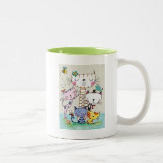 Family Cat Mug