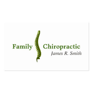 Family Chiropractic Chiropractor Clinic Health Pack Of Standard Business Cards
