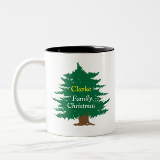 Family Christmas Personalized Mug