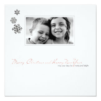 family christmas potriat photo card