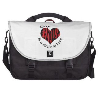 family circle of love commuter bags
