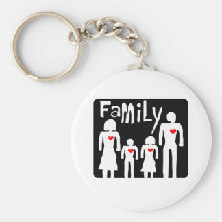 family  concept keychain