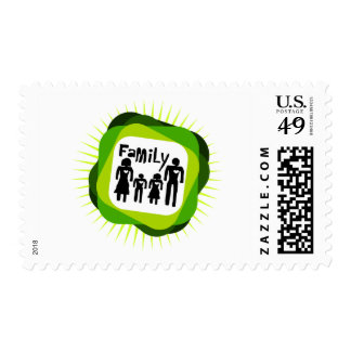 family  concept stamps
