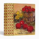 Family Cookbook Binder