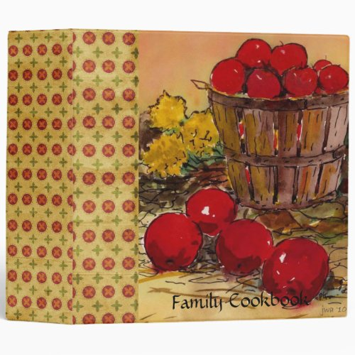 Family Cookbook Binder