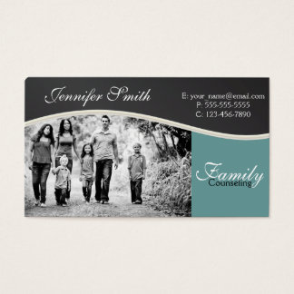 Family Counseling Business Card